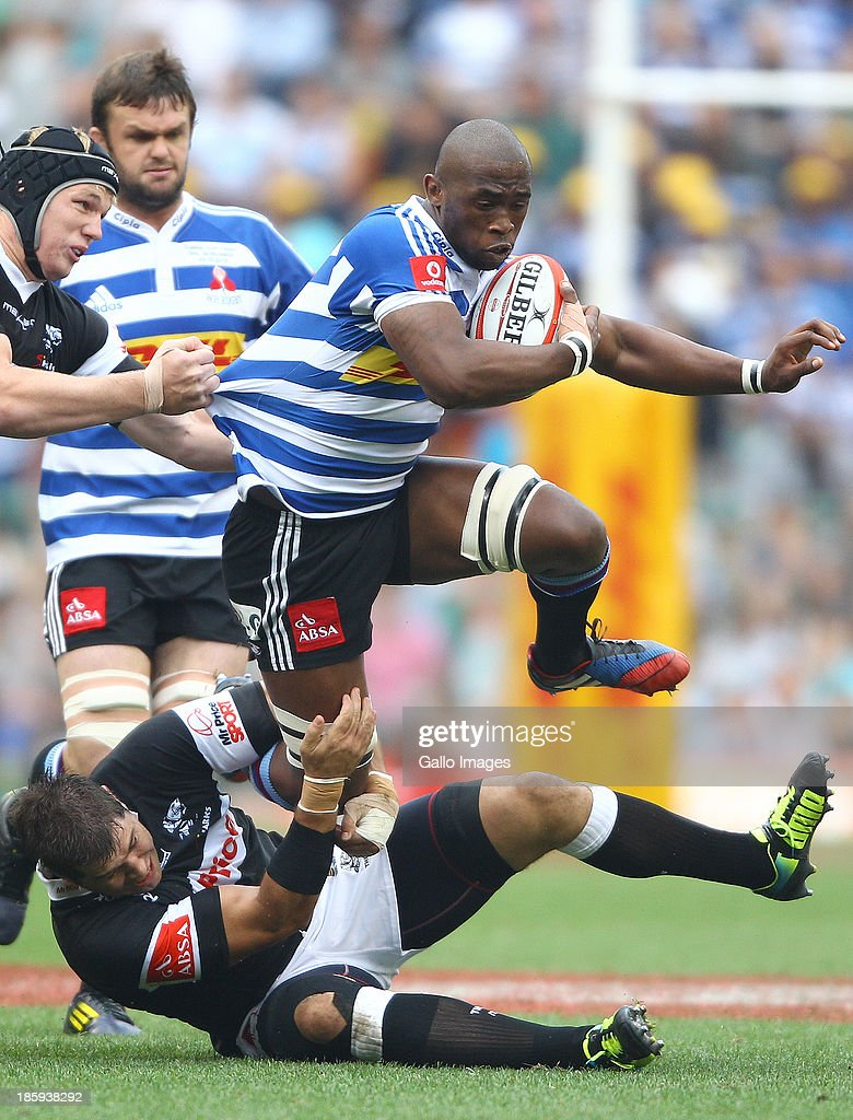 Siya Kolisi of Western Province during the Absa Currie Cup final match between DHL Western Province and The Sharks at DHL Newlands on October 26 2013...
