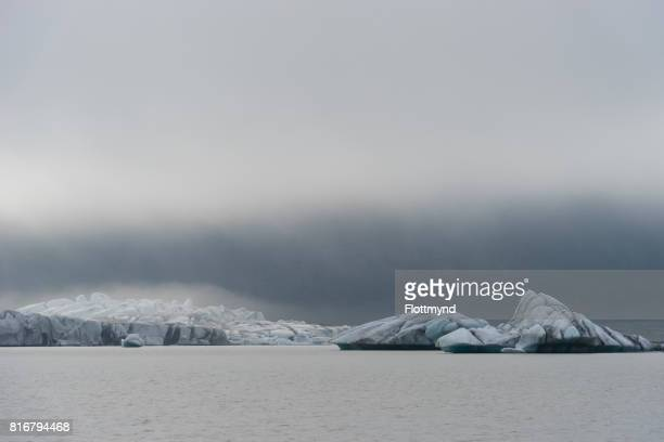 Skaftafellsjokull glacier lagoon