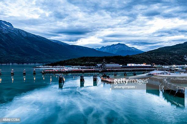 Skagway Harbor at Dawn