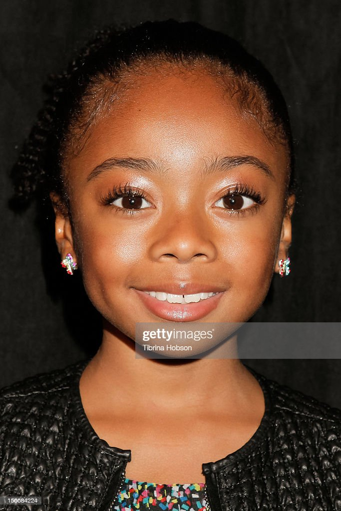 Skai Jackson attends the 2nd annual Dream Magazine winter wonderland Eevent at TDJ Studios on November 18, 2012 in North Hollywood, California.