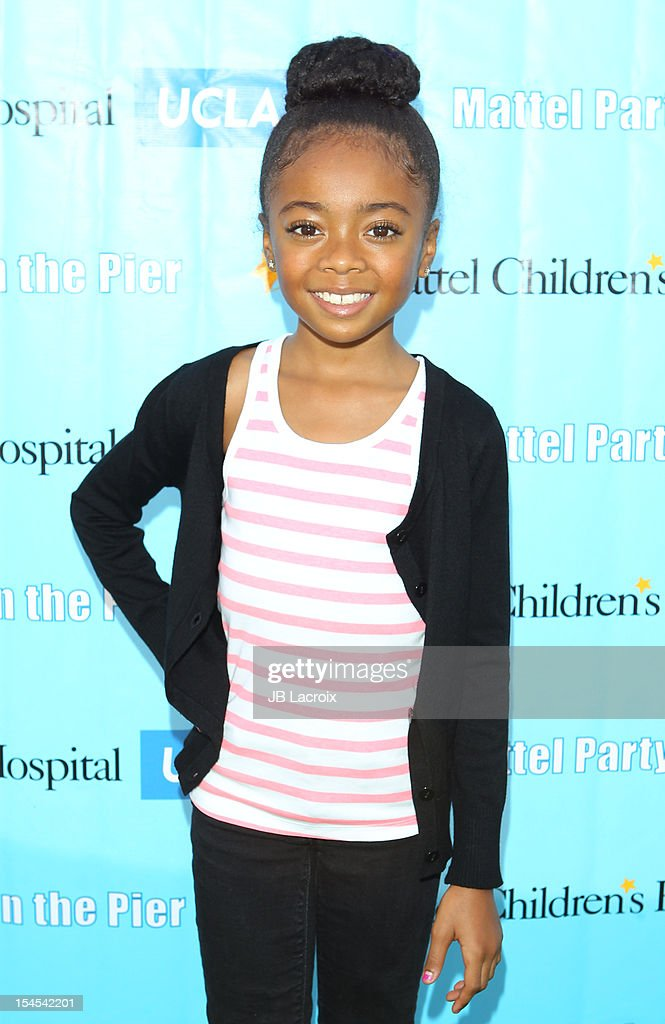 Skai Jackson attends the Mattel Party On The Pier Benefiting Mattel Children's Hospital UCLA at Pacific Park ? Santa Monica Pier on October 21, 2012 in Santa Monica, California.