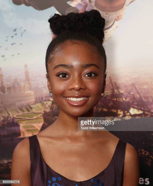 Skai Jackson attends the premiere Of The Weinstein Company's 'Leap' at Pacific Theatres at The Grove on August 19 2017 in Los Angeles California