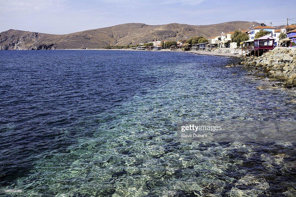 Skala Erresos, Mytilini, Greece : Stock Photo