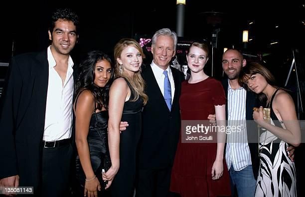 Skander Halim writer of 'Pretty Persuasion' Adi Schnall Elisabeth Harnois James Woods Evan Rachel Wood Marcos Siega director of 'Pretty Persuasion'...
