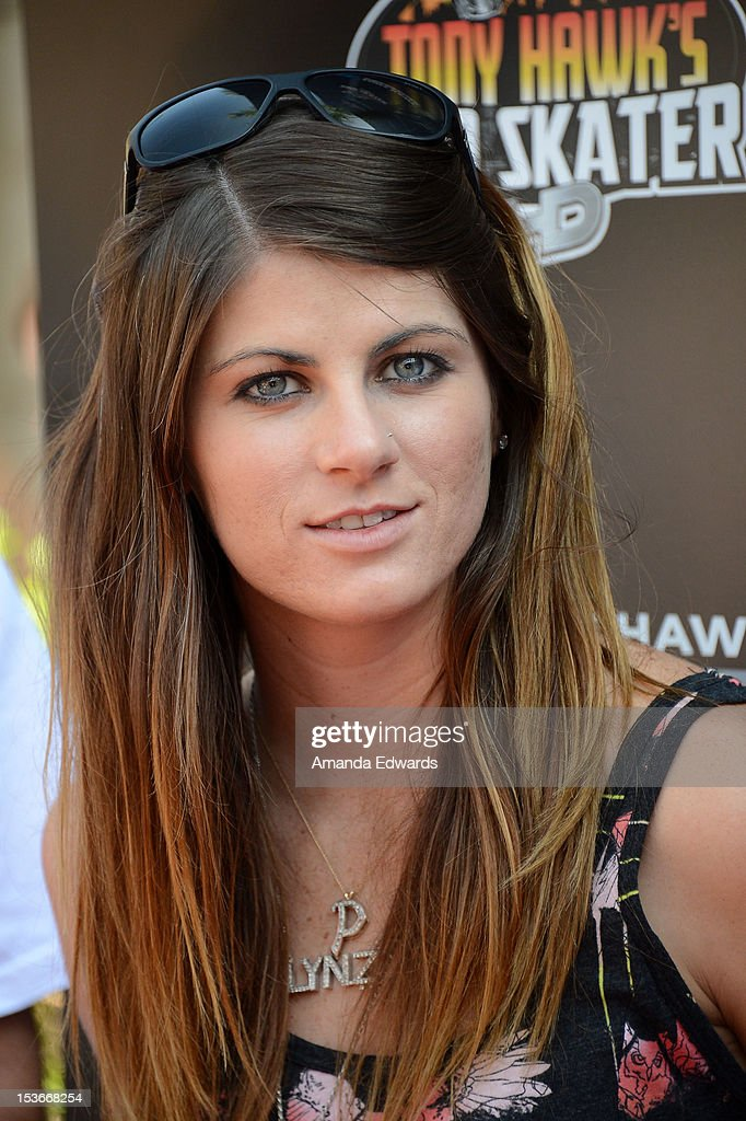 Skateboarder Lindsay Pastrana arrives at the 9th Annual Stand Up For Skateparks Benefiting The Tony Hawk Foundation at a private residence on October 7, 2012 in Beverly Hills, California.
