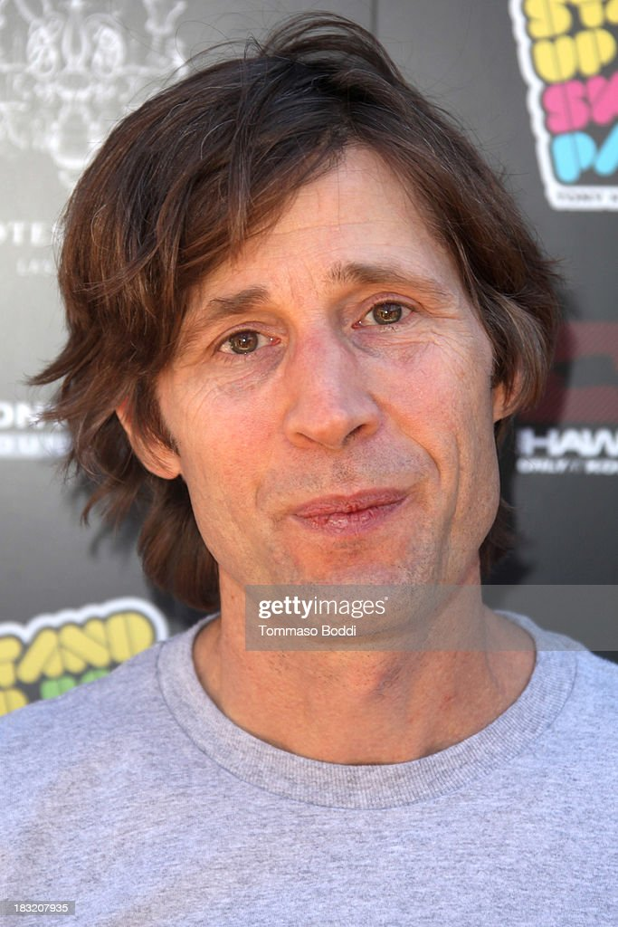 Skateboarder Rodney Mullen attends the 10th annual Tony Hawk's Stand Up For Skateparks celebrity charity event on October 5, 2013 in Beverly Hills, California.