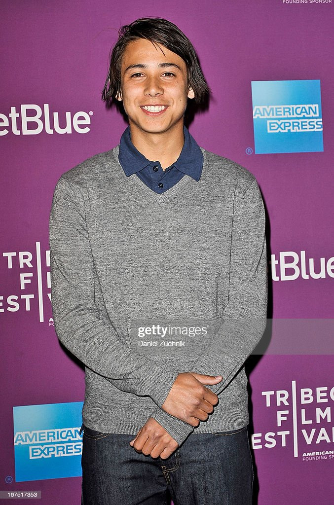 Skateboarder Sean Malto attends the premiere of 'The Motivation' during the 2013 Tribeca Film Festival at SVA Theater on April 25, 2013 in New York City.