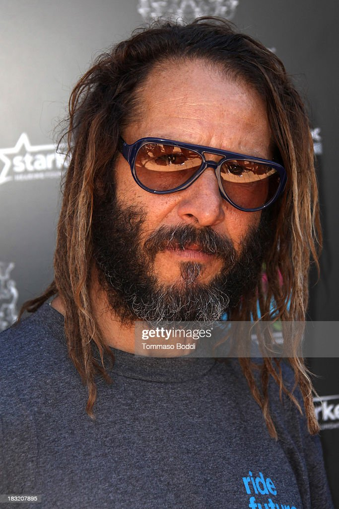 Skateboarder <a gi-track='captionPersonalityLinkClicked' href=/galleries/search?phrase=Tony+Alva&family=editorial&specificpeople=238911 ng-click='$event.stopPropagation()'>Tony Alva</a> attends the 10th annual Tony Hawk's Stand Up For Skateparks celebrity charity event on October 5, 2013 in Beverly Hills, California.