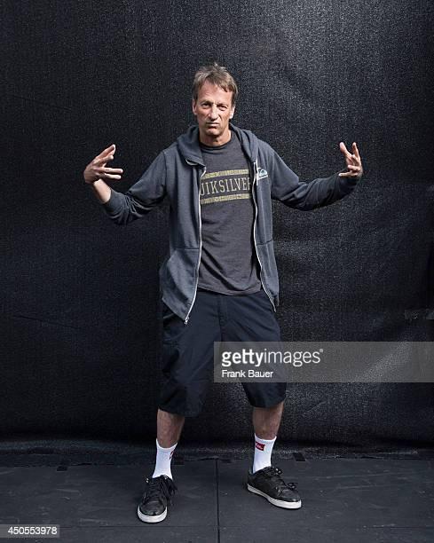 Skateboarder Tony Hawk is photographed for Sueddeutsche Zeitung magazine on August 7 2013 in Munich Germany