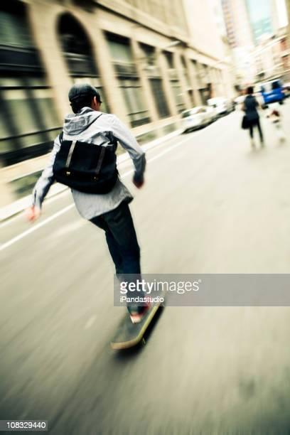 Le skate dans la rue