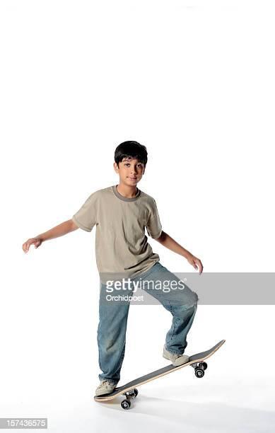 Andare sullo skate-board