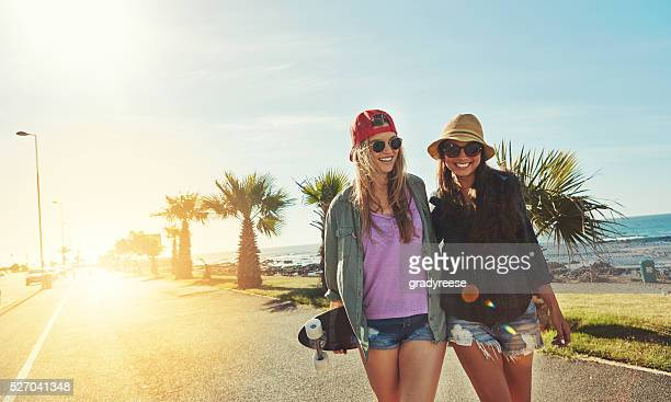 Skateboarding der Sommer entfernt