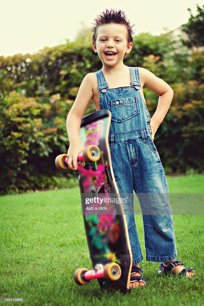 Skater boy : Stock Photo