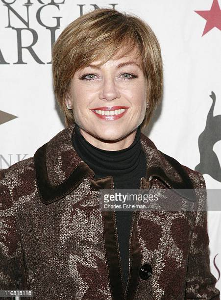 Skater Dorothy Hamill attends the 2008 Skating With The Stars Gala By Figure Skating In Harlem at the Wollman Rink Central Park on March 31 2008 in...