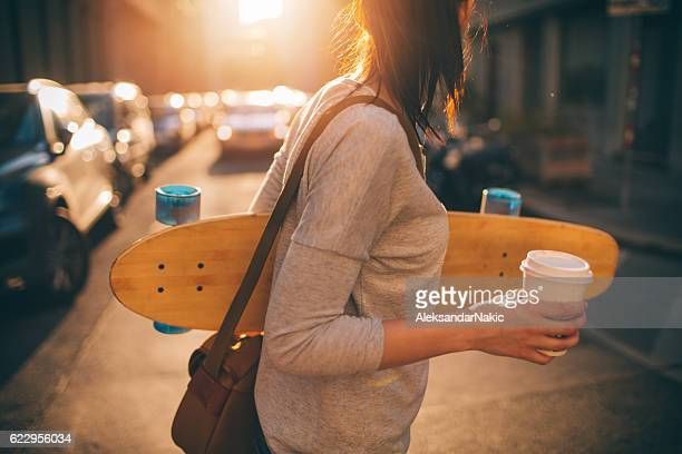 Skater-Mädchen