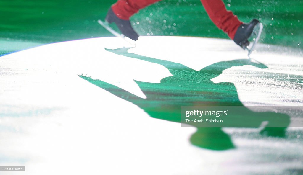 A skater performs in the gala exhibition during day three of the ISU Rostelecom Cup of Figure Skating 2013 on November 24, 2013 in Moscow, Russia.