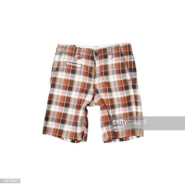 Skater Shorts on White Background