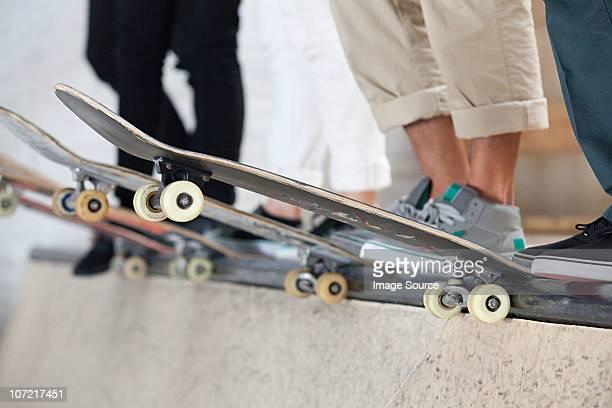 Skater und die boards