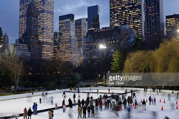 Skating Central Park # 2 XL