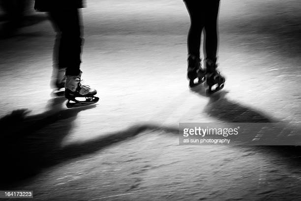 skating pair