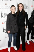 Skating stars Sasha Cohen and Gold Medalist Sarah Hughes attend the 2008 Skating with the Stars Under the Stars benefit gala on March 31st 2008 in...