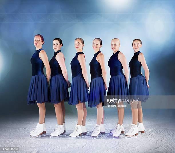 Skating team shot.