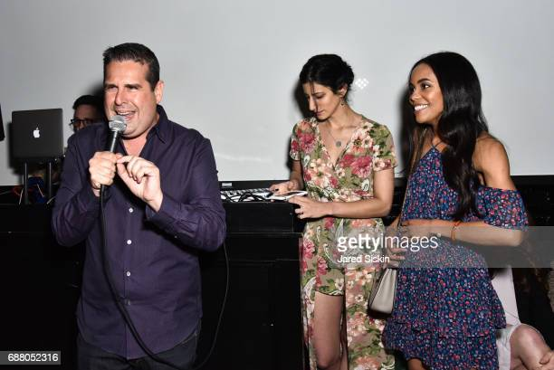 Skeery Jones Jess Edelstein and Sarah Ribner attend PiperWai NYC Launch Event at Vnyl on May 24 2017 in New York City