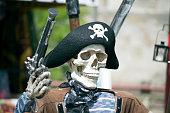 skeleton pirate dress