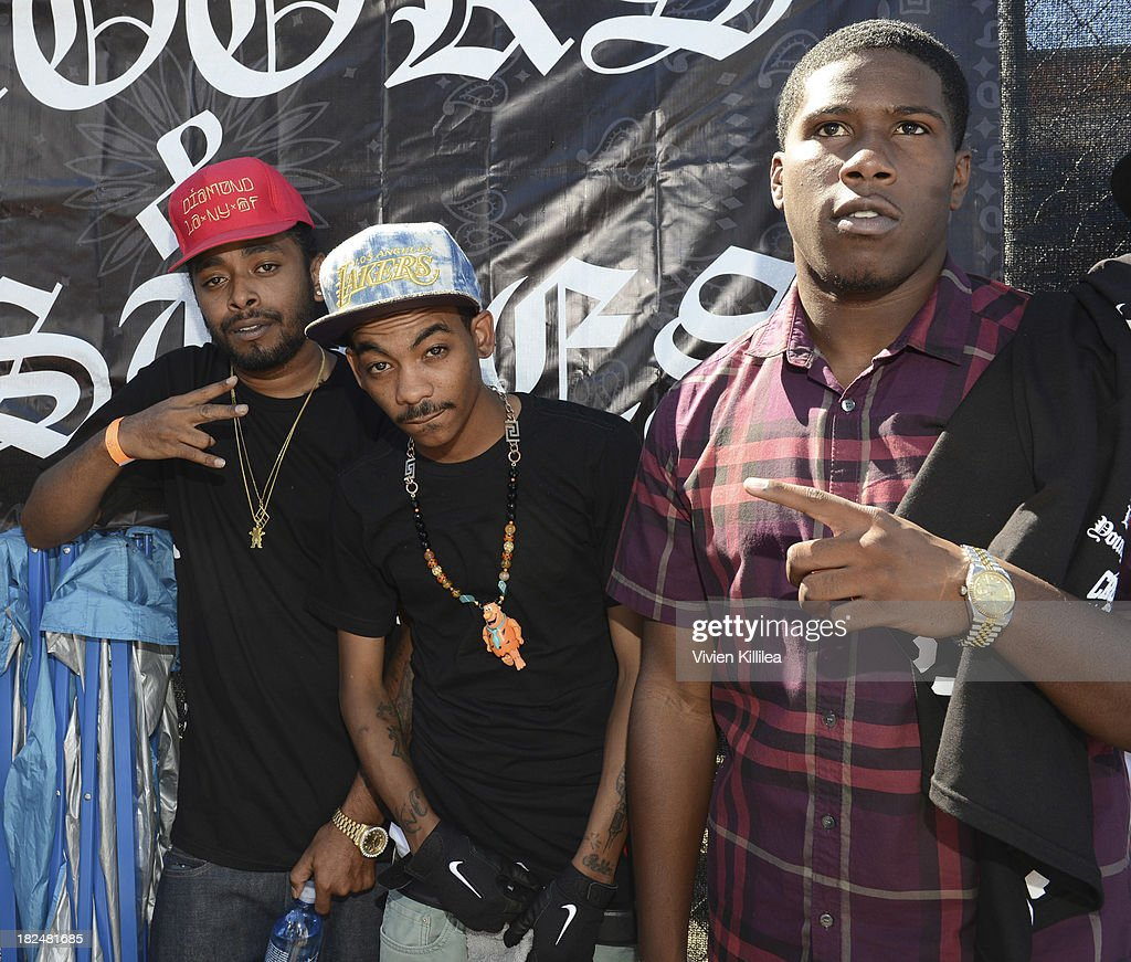 Skeme, Teeflii and Uiie P attend Welcome To The Block presented by Crooks & Castles and Diamond Supply Co on September 29, 2013 in Los Angeles, California.