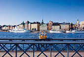 Skeppsholm Bridge and Riddarholmen island