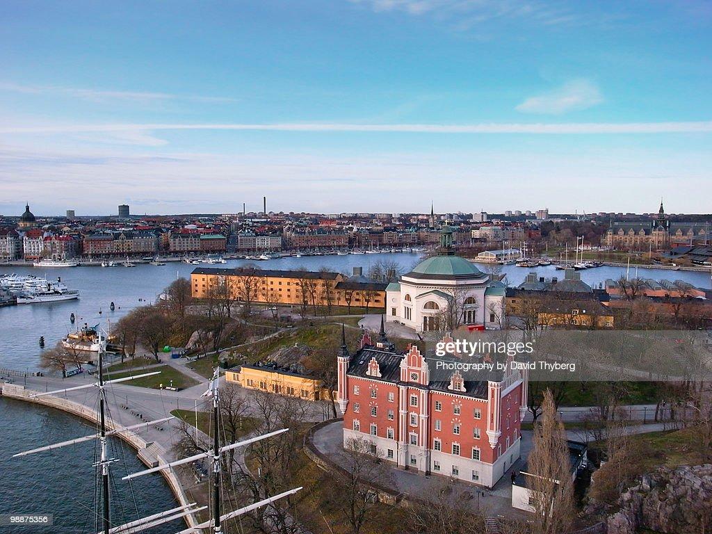 Skeppsholmen : Stock Photo
