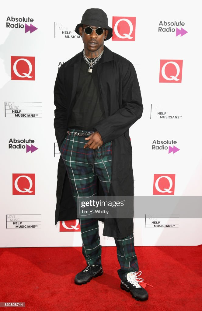 Skepta attends the Q Awards 2017, in association with Absolute Radio, held at the Roundhouse on October 18, 2017 in London, England.