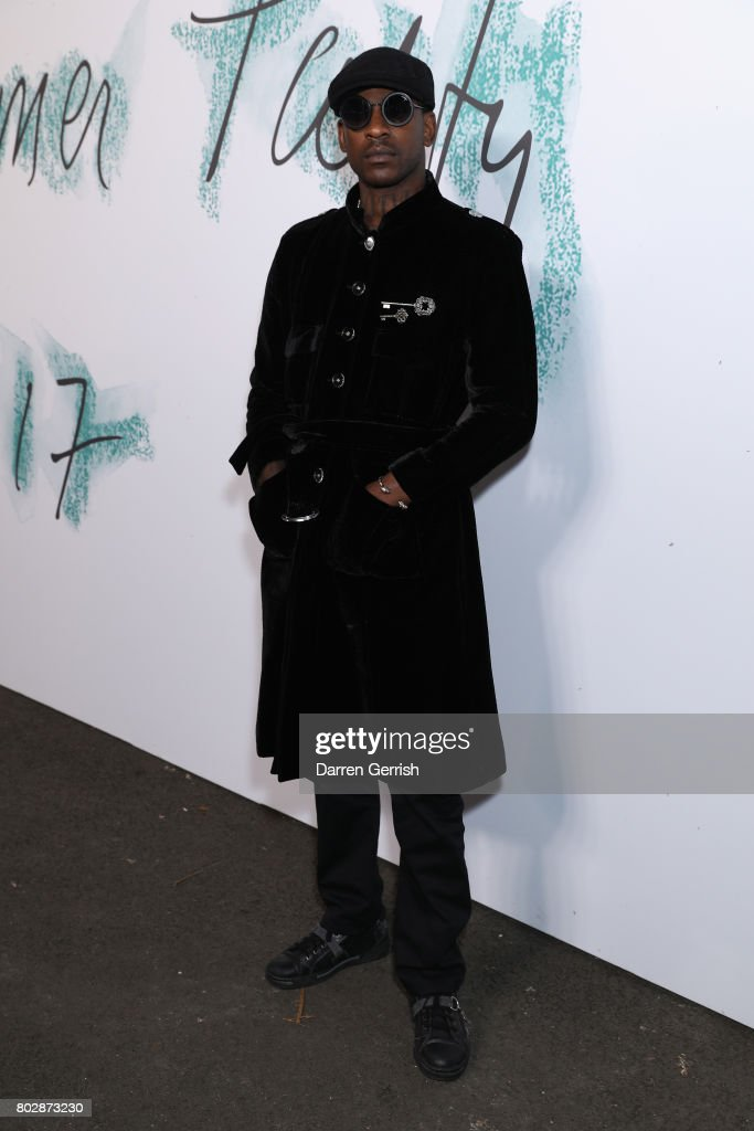 Skepta attends the Summer Party 2017 presented by Serpentine and Chanel at The Serpentine Gallery on June 28, 2017 in London, England.
