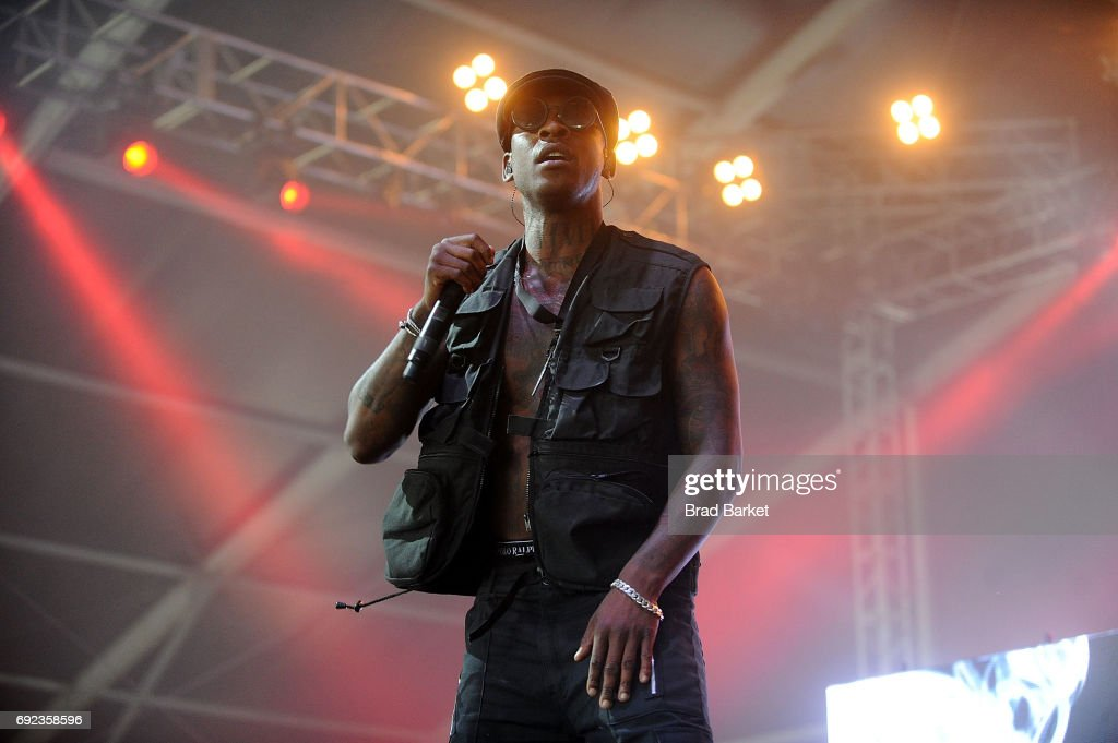 Skepta performs at the 2017 Governors Ball Music Festival - Day 3 at Randall's Island on June 4, 2017 in New York City.