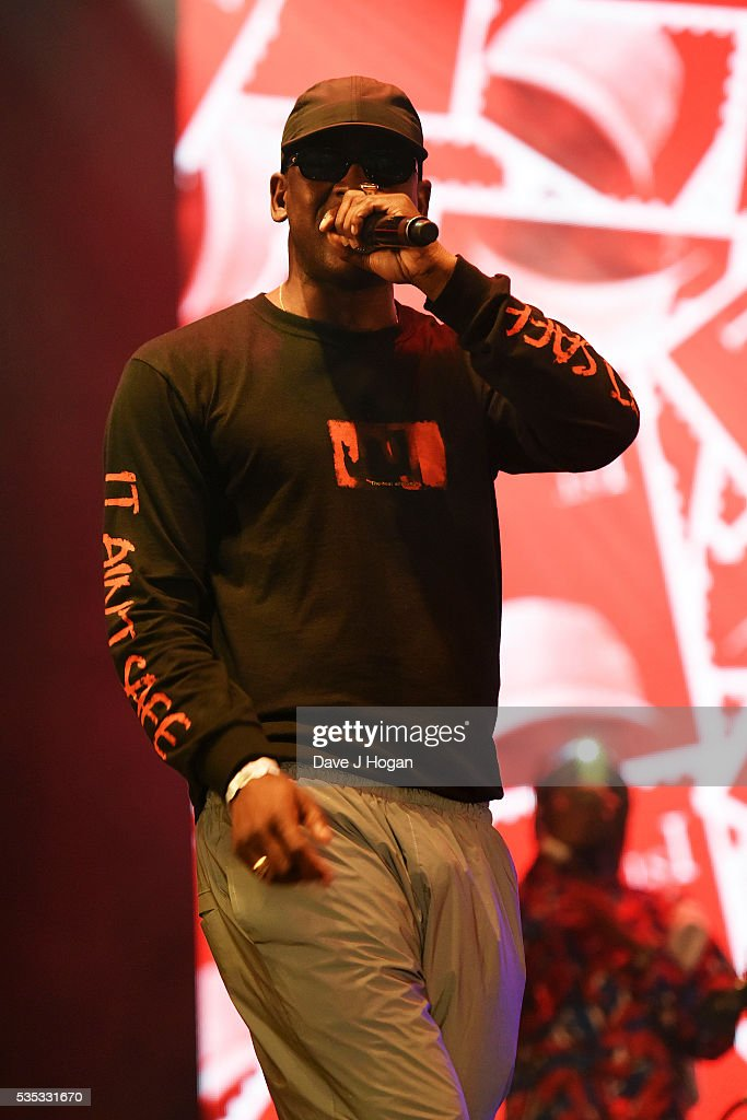 <a gi-track='captionPersonalityLinkClicked' href=/galleries/search?phrase=Skepta&family=editorial&specificpeople=5378007 ng-click='$event.stopPropagation()'>Skepta</a> performs during day 2 of BBC Radio 1's Big Weekend at Powderham Castle on May 29, 2016 in Exeter, England.