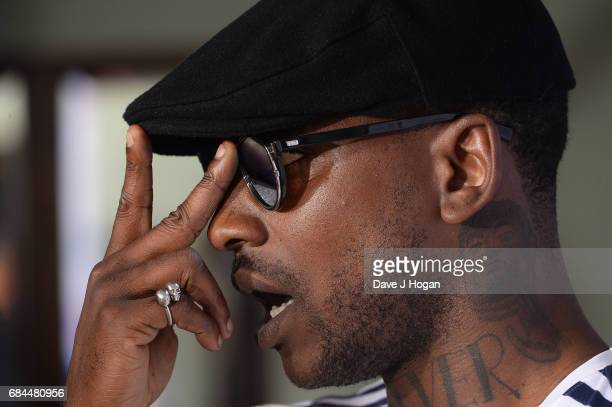 Skepta poses in the winners room at the Ivor Novello Awards at Grosvenor House on May 18 2017 in London England