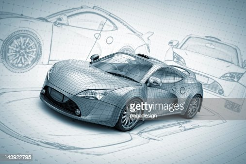 sketch supercar : Photo
