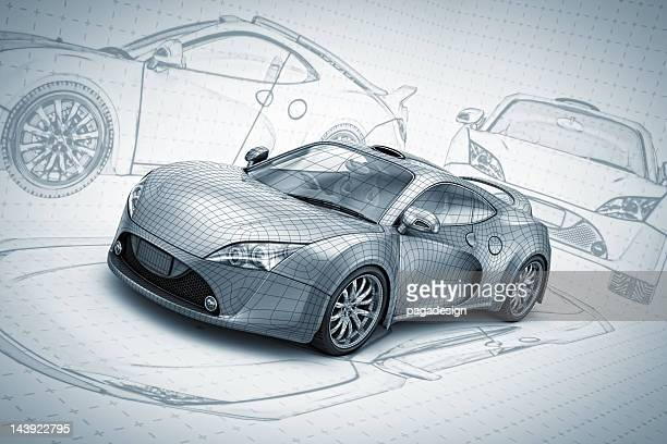 sketch supercar