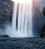 Skógafoss waterfall, Skógar, Iceland