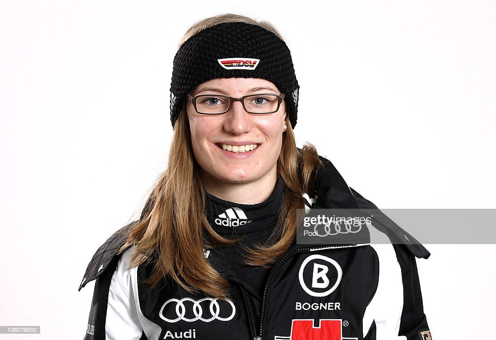 Ski alpine athlete <a gi-track='captionPersonalityLinkClicked' href=/galleries/search?phrase=Lena+Duerr&family=editorial&specificpeople=6479654 ng-click='$event.stopPropagation()'>Lena Duerr</a> poses during a photo call on October 26, 2010 in Ingolstadt, Germany.