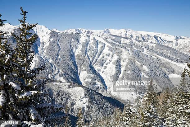 Ski area at the Aspen Highlands