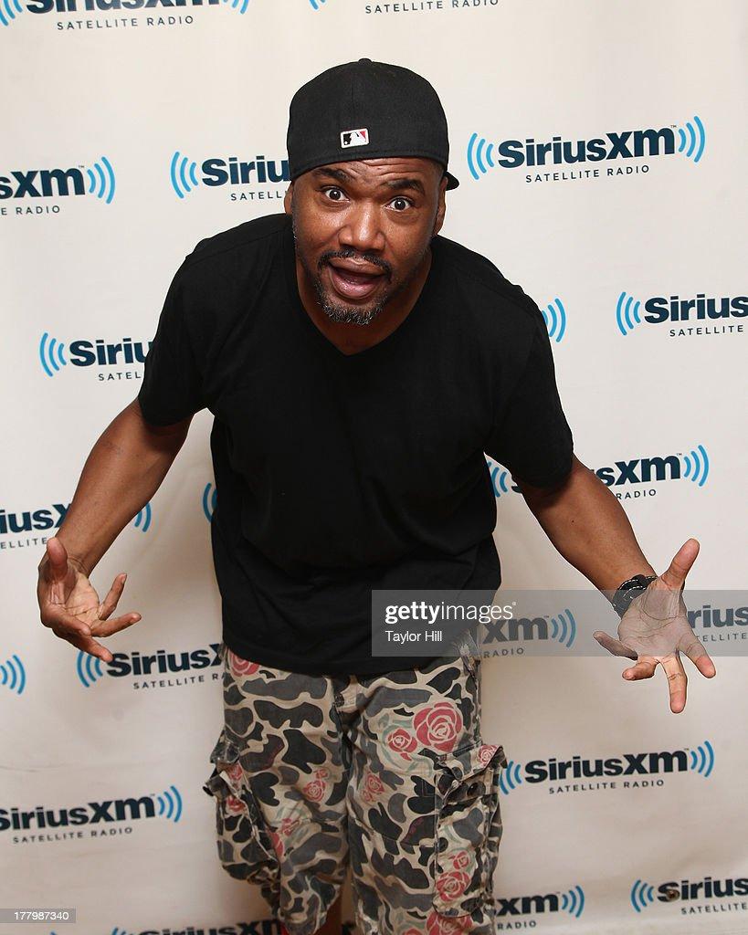Ski Beatz visits the SiriusXM Studios on August 26, 2013 in New York City.