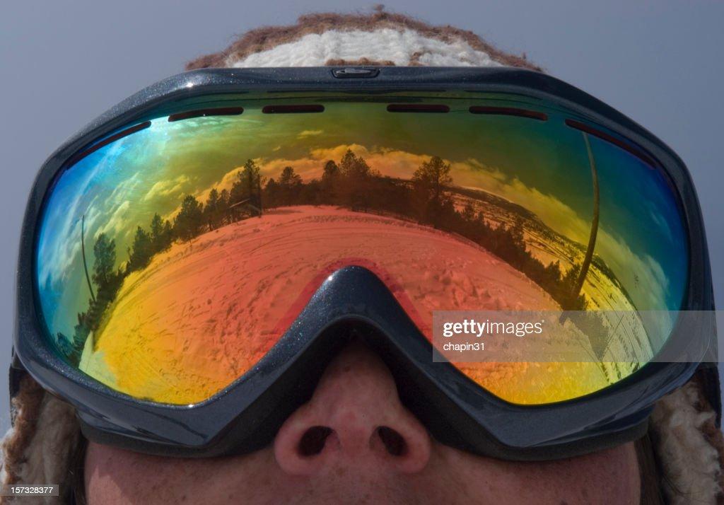 Ski Goggle Reflection
