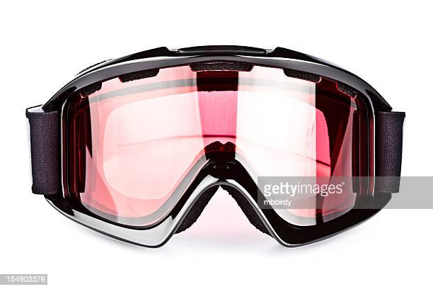 Ski goggles, isolated on white background