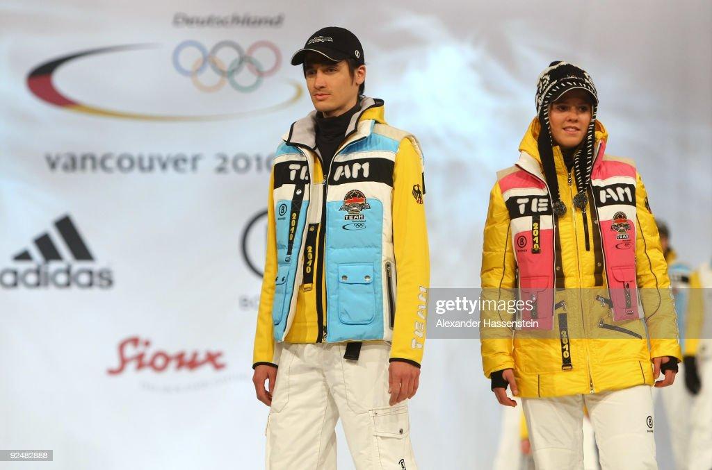 German Athletes Winter Olympic's Kit Presentation