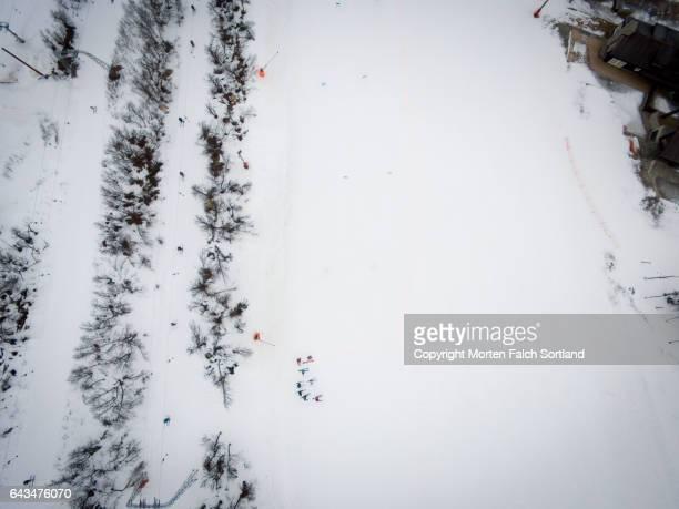 Ski lift, Geilo, Norway