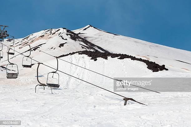 Ski lift, Sicily