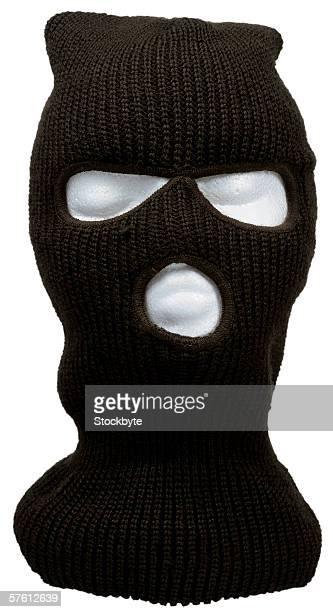 ski mask on dummy head
