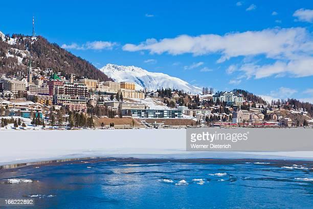 Ski resort St. Moritz, Engadine, Switzerland