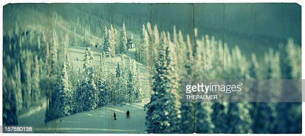 slop de ski dans le colorado